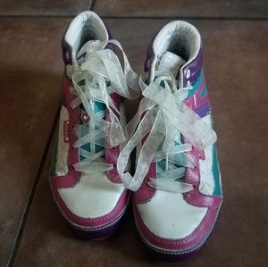 Pastry Novelty High Top Sneakers Size W 7.5